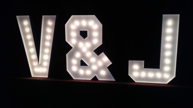 Toronto Giant Marquee Letters